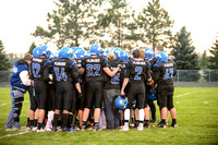 Elk Point Jefferson vs Dakota Valley FB 2015